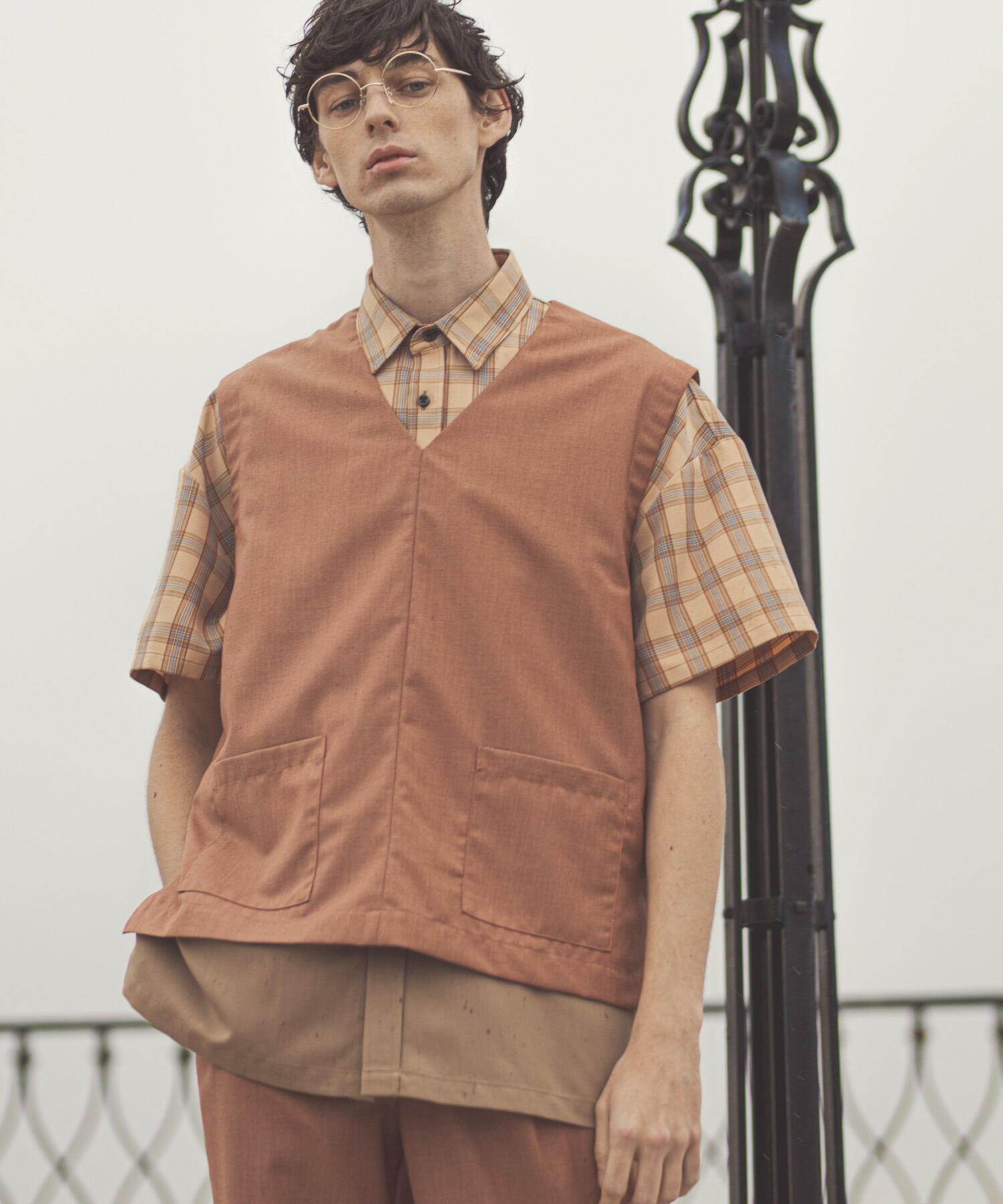 【GLIMCLAP(グリムクラップ)】Cloth Vest ベスト(05gls-ca)