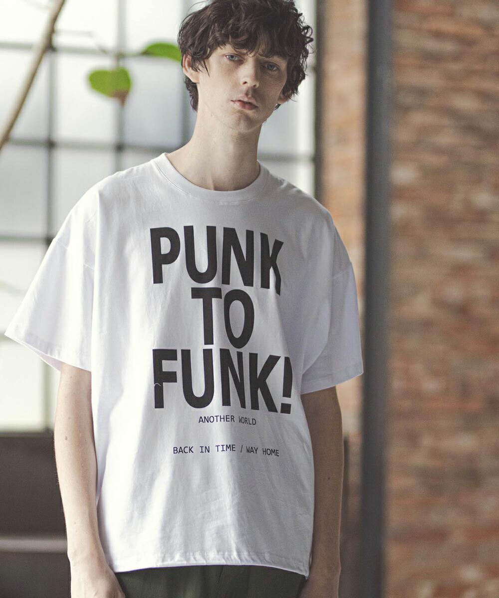 【GLIMCLAP(グリムクラップ)】Draw code Hem Design Print T-Shirt Tシャツ(017gls-ca)