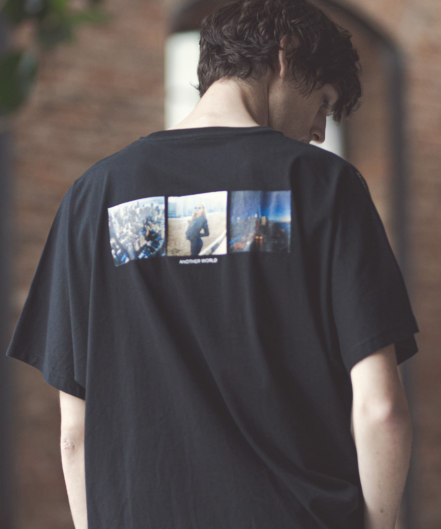 【GLIMCLAP(グリムクラップ)】Dolman sleeve Design Print T-Shirt Tシャツ(020gls-ca)