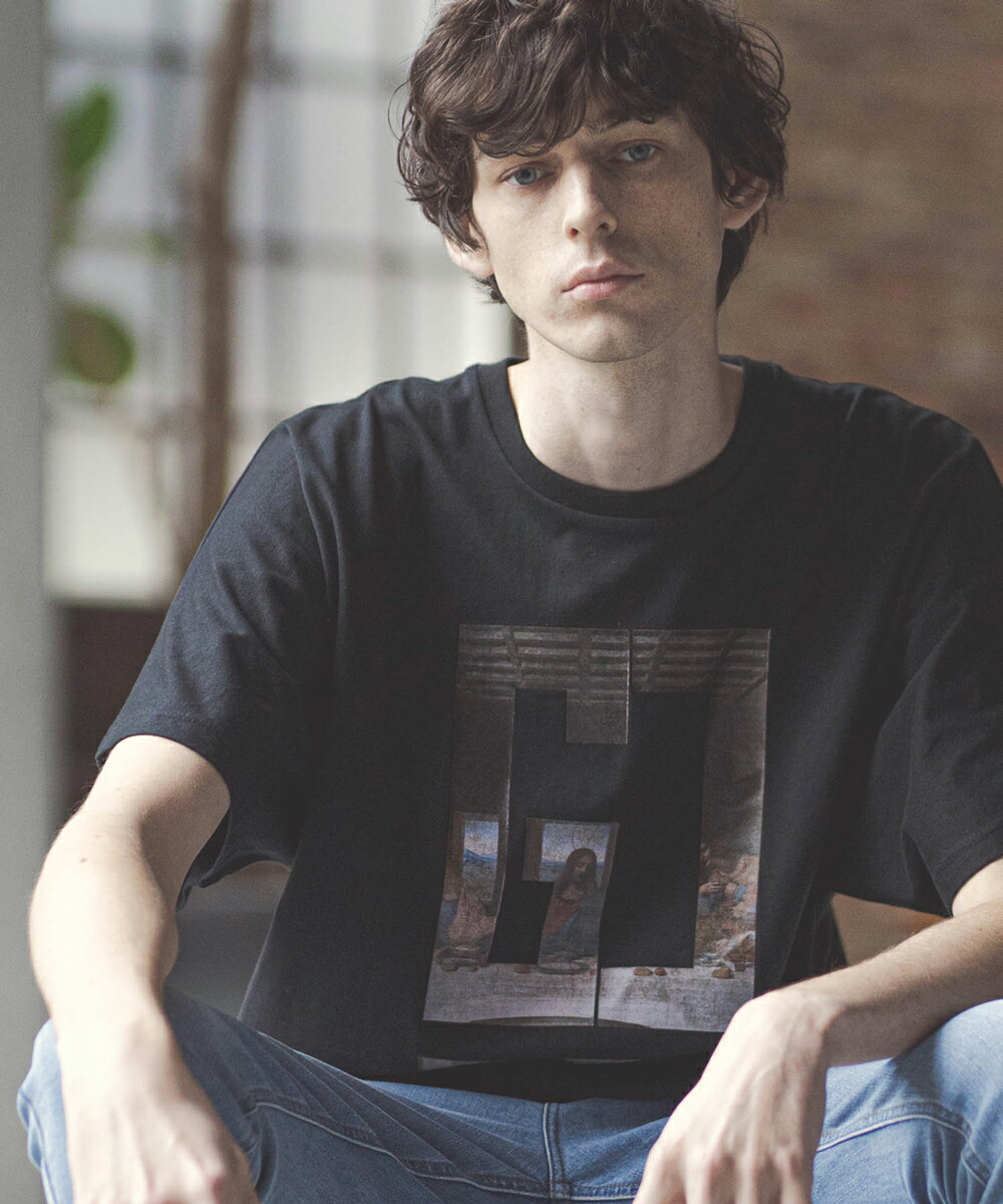 【GLIMCLAP(グリムクラップ)】Dolman sleeve Design Print T-Shirt Tシャツ(021gls-ca)