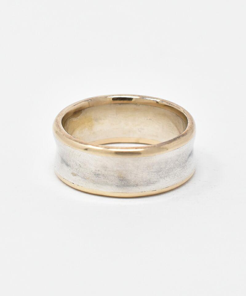 【IDEALISM SOUND(イデアリズム サウンド)】Boarder Combination Ring 指輪(S19028)