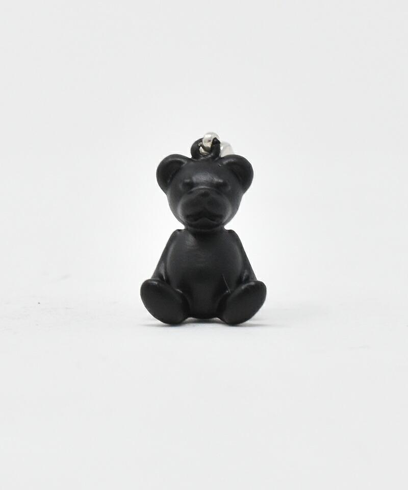 【IDEALISM SOUND(イデアリズム サウンド)】Black Bear Necklace ペンダントトップ(S19006)