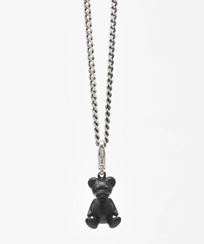 【IDEALISM SOUND(イデアリズム サウンド)】Black Bear Necklace ネックレス(S19092)
