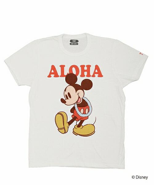 【TMT(ティーエムティー)】TMT S-SL RAFI JERSEY(ALOHA)-MICKEY Tシャツ(TCS-S20MK01)
