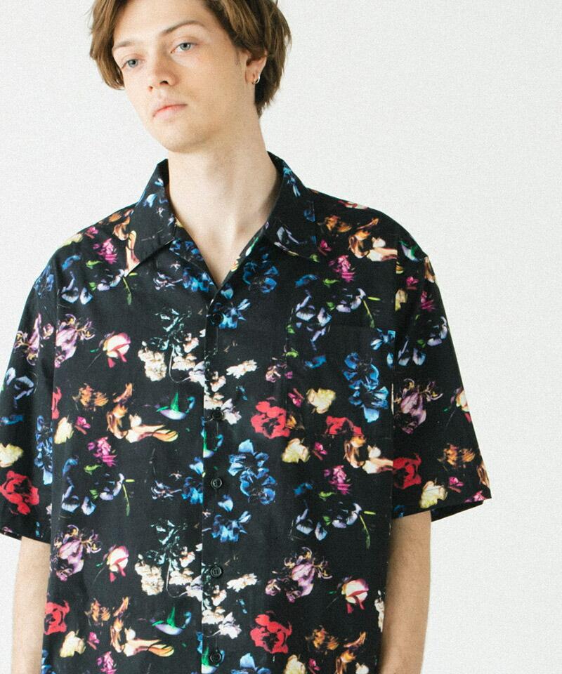 【rehacer(レアセル)】Botanical Garden Shirt S-S  シャツ(01200300009)