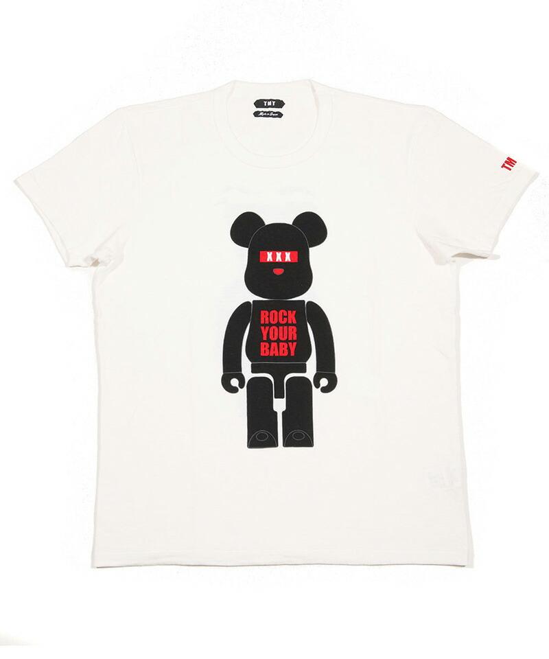 【TMT(ティーエムティー)】BE@RBRICK×TMT S-SL RAFI JERSEY(ROCK YOUR BABY) Tシャツ(TCS-S19BA05)