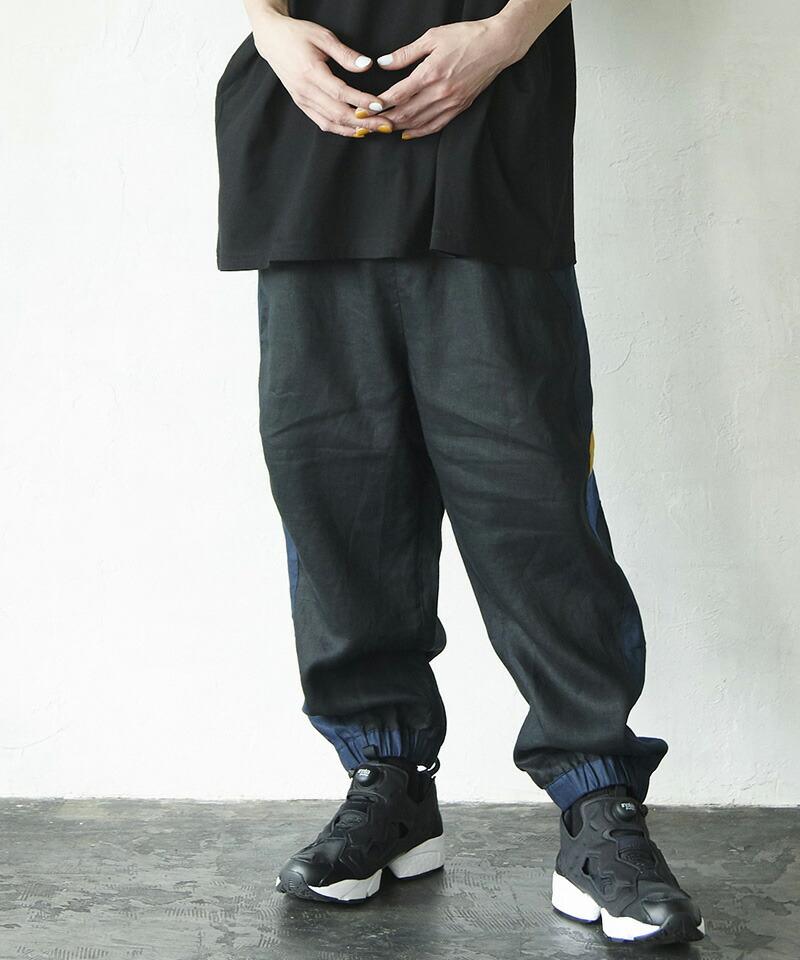 【VOY】Combination wide pants パンツ(VOY20-05)