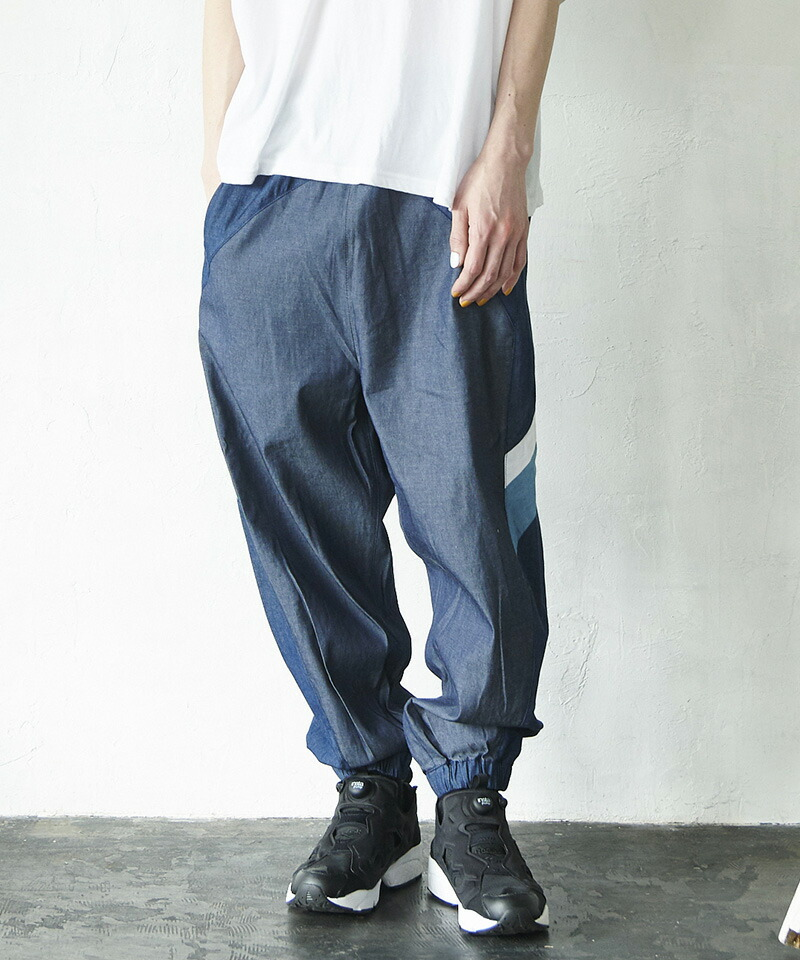 【VOY】Combination wide jeans デニムパンツ(VOY20-06)