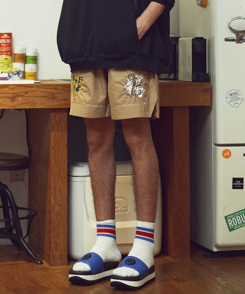 【VOY】Tiger basket shorts パンツ(VOY20-09)