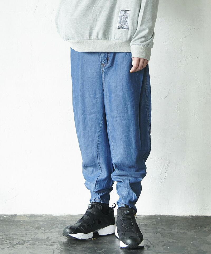 【VOY】3D twist TENCEL jeans デニムパンツ(VOY20-11)