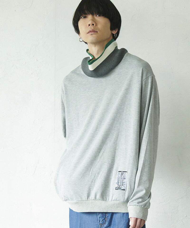 【VOY】Knit neck pullover プルオーバー(VOY20-15)