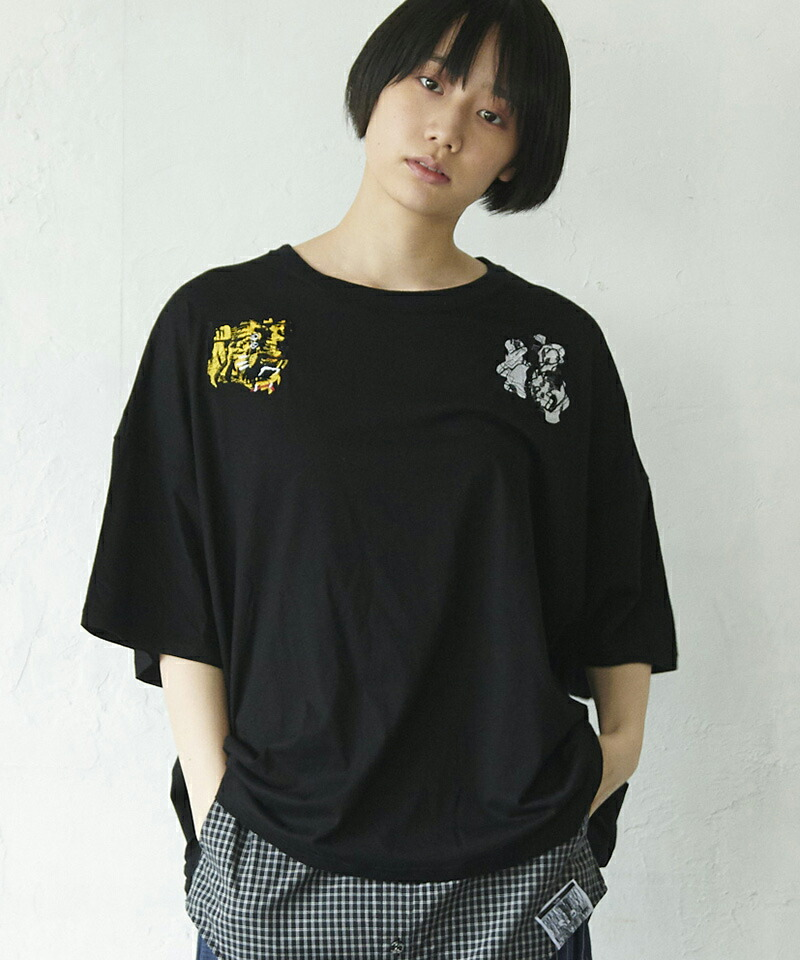 【VOY】Tiger wide tee Tシャツ(VOY20-17)