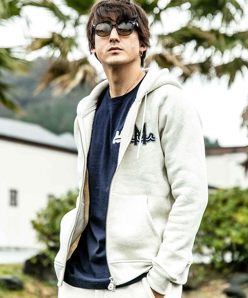 【ACANTHUS(アカンサス)】muta Freedom SleeveZip-up Hooded Sweatshirt(MA2020)
