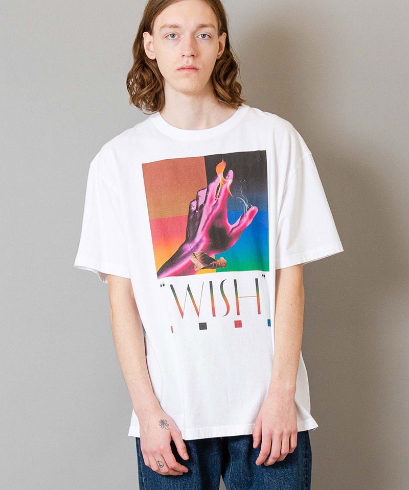 【FACTOTUM(ファクトタム)】Print T-Shirt-color-(01080240)