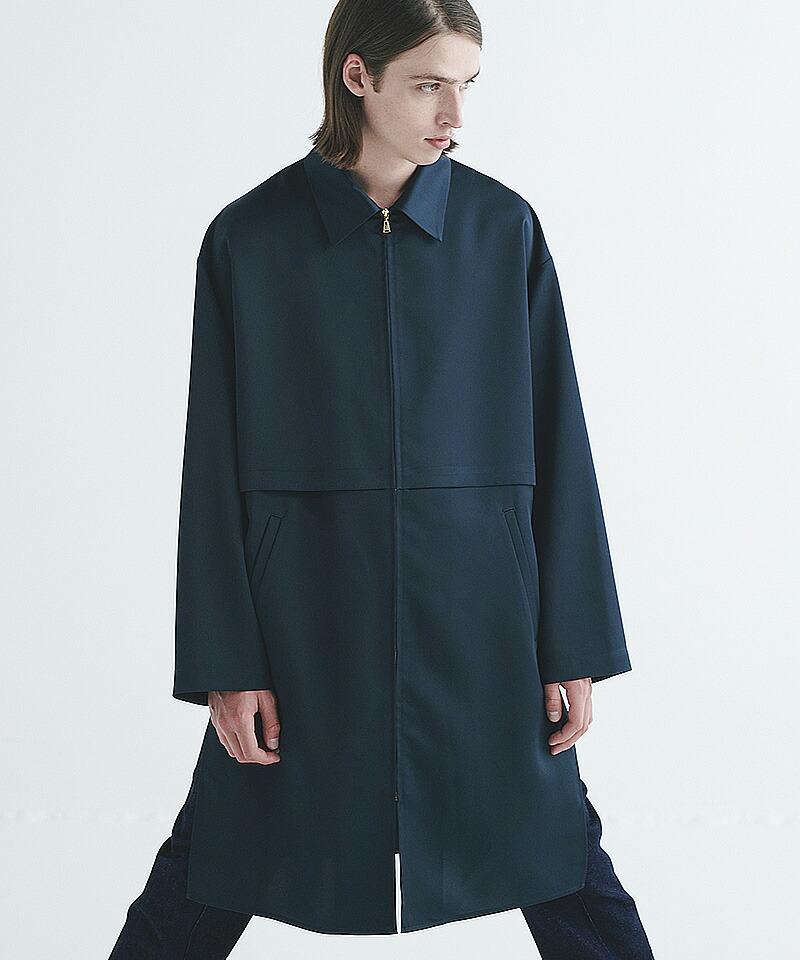 【CULLNI(クルニ)】ZIPシャツコート(20-AW-031)