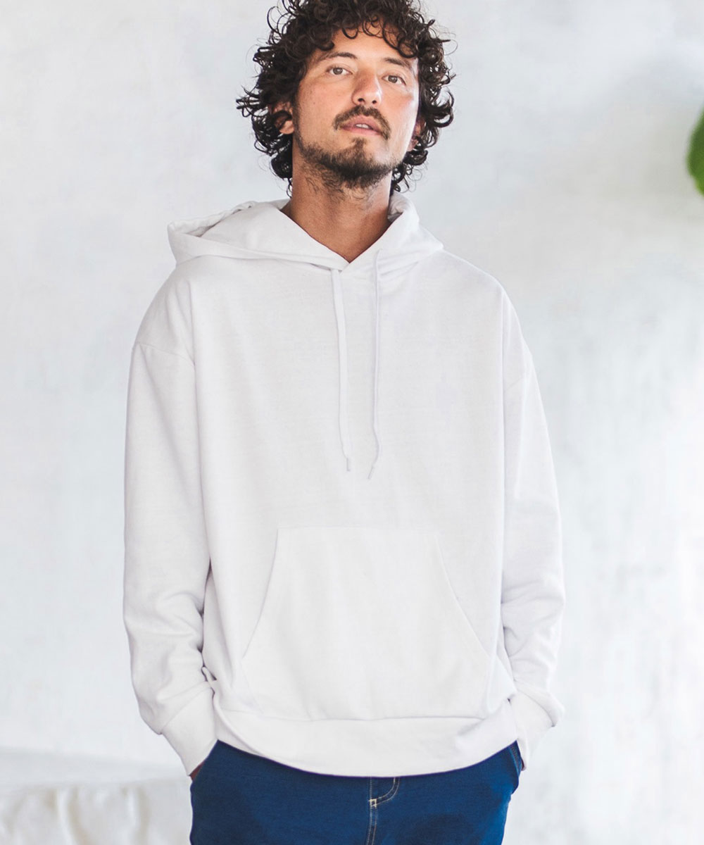 【CAMBIO(カンビオ)】Recycle Cotton Sweat Loose Pull Parka パーカー
