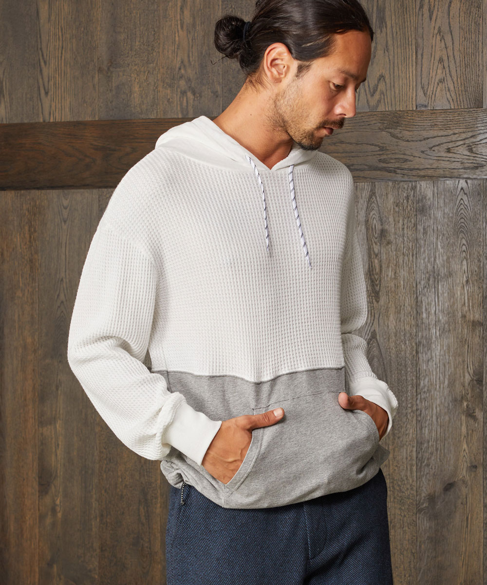 【CAMBIO(カンビオ)】Waffle Switch Pullover Parka パーカー
