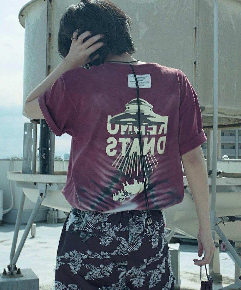 【SEVESKIG(セヴシグ)】YUKIDYE×SEVESKIG×TEXTA8000 UNDERSTAND Tシャツ(CT-SV-NIS-1004)