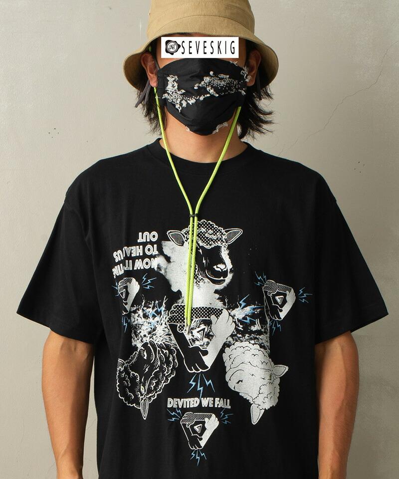 【SEVESKIG(セヴシグ)】KOICHIRO TAKAGI × SEVESKIG DEVITED WE FALL Tシャツ(CT-SV-NIS-1008)