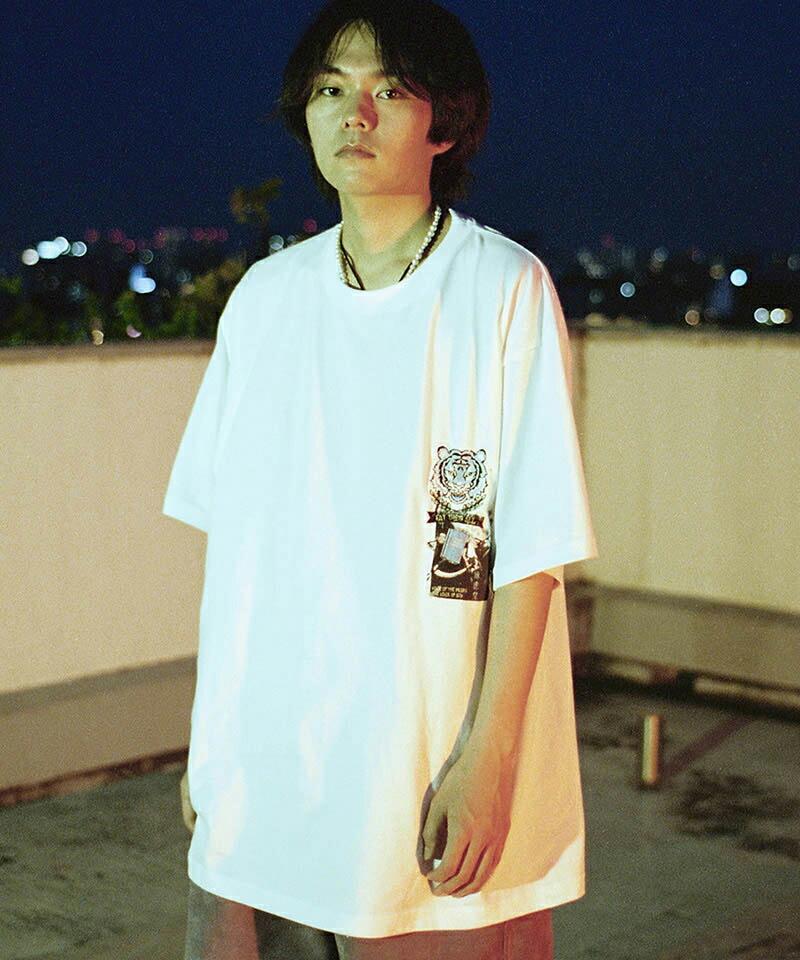 【SEVESKIG(セヴシグ)】KOICHIRO TAKAGI × SEVESKIG EAT THEM ALL Tシャツ(CT-SV-NIS-1006)