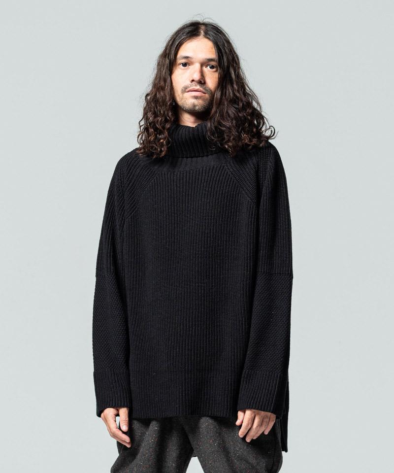【glamb(グラム)】Sulman turtle knit サルマンタートルネックニット(GB0420-KNT07)