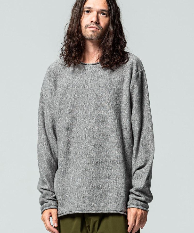 【glamb(グラム)】Hide pullover knit ハイドプルーバーニット(GB0420-KNT12)
