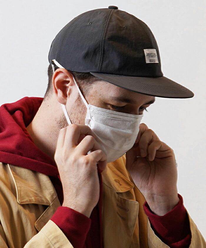 【Mighty Shine】NYLON FLATS CAP キャップ(1211010)