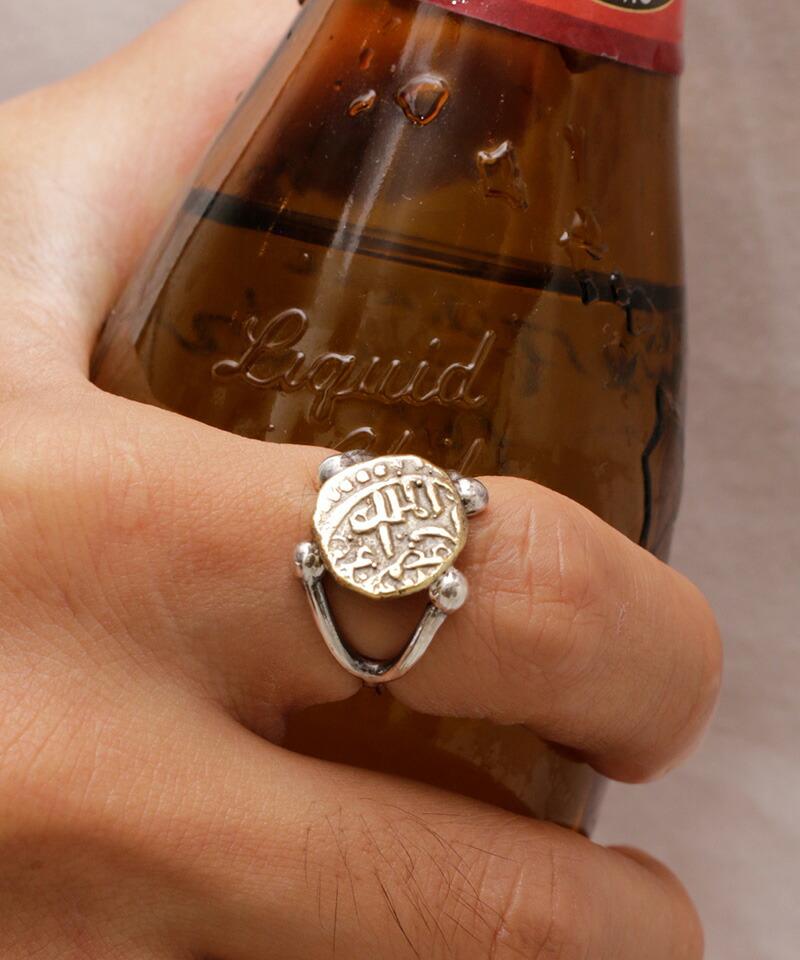【VIVIFY(ビビファイ)】Ancient Coin Arm Ring (Brass) 指輪(VFR-140)