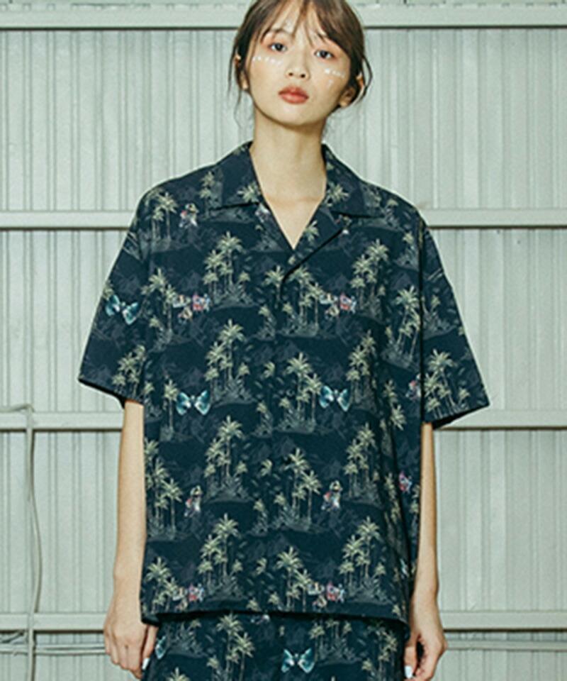 【STOF(ストフ)】After War Aloha Shirts シャツ(SF21SS-10)