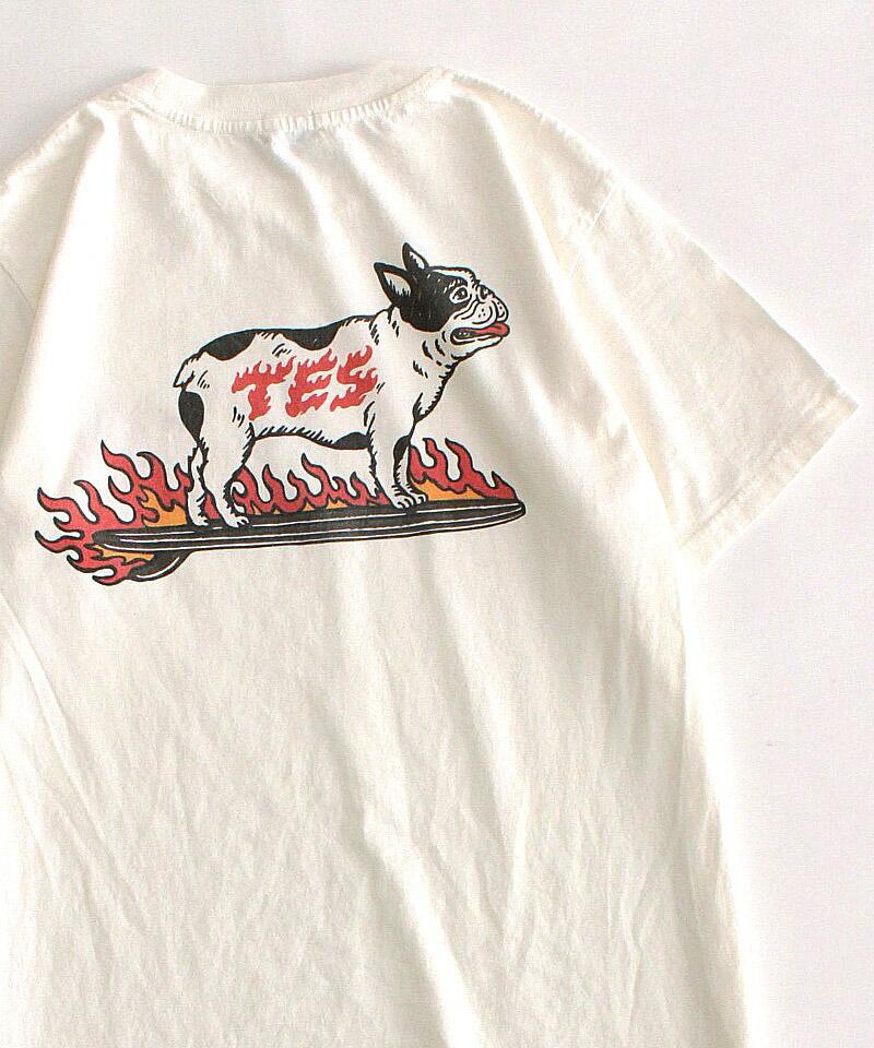【The Endless Summer(ザエンドレスサマー)】FIRE SKATE BUHI SST Tシャツ(1574318)