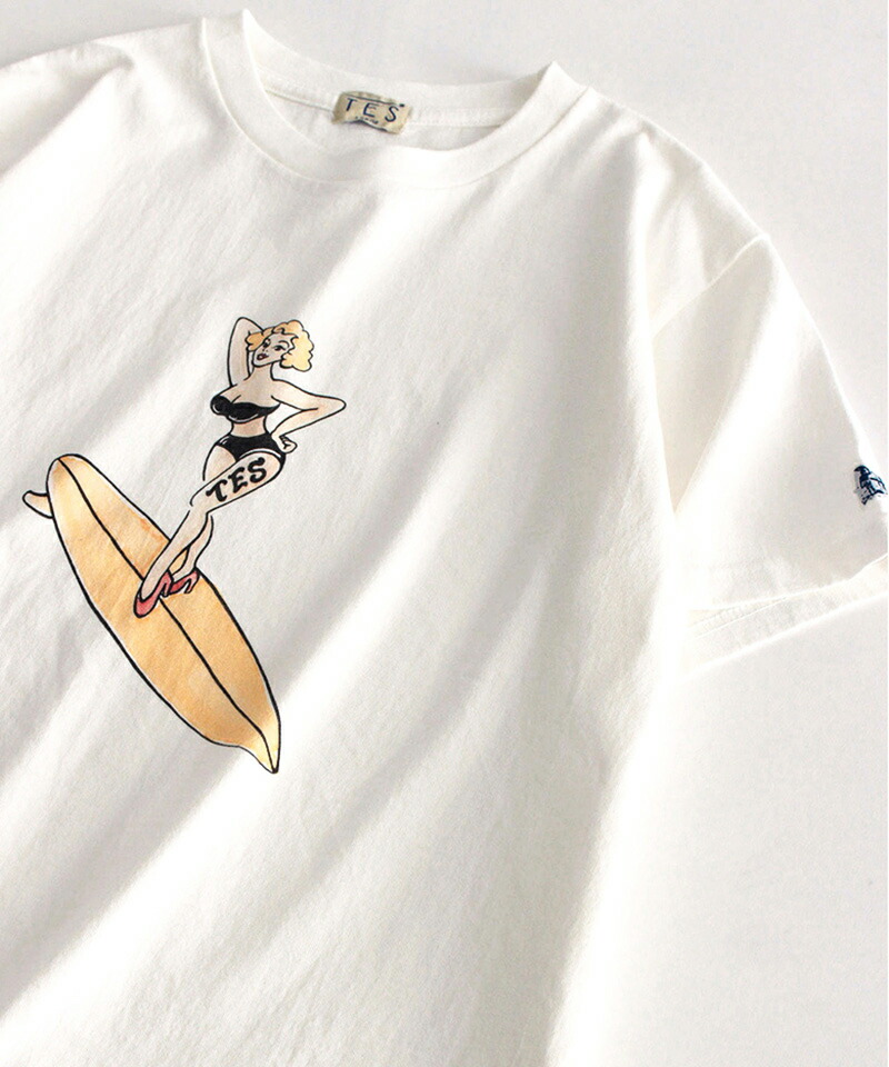 【The Endless Summer(ザエンドレスサマー)】SURF GIRL TEE Tシャツ(1574327)