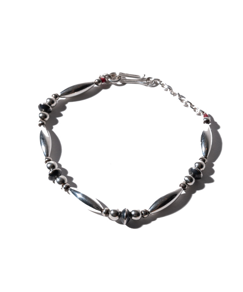 【glamb(グラム)】Silver beads braceletシルバービーズブレスレット(GB0121-AC12)