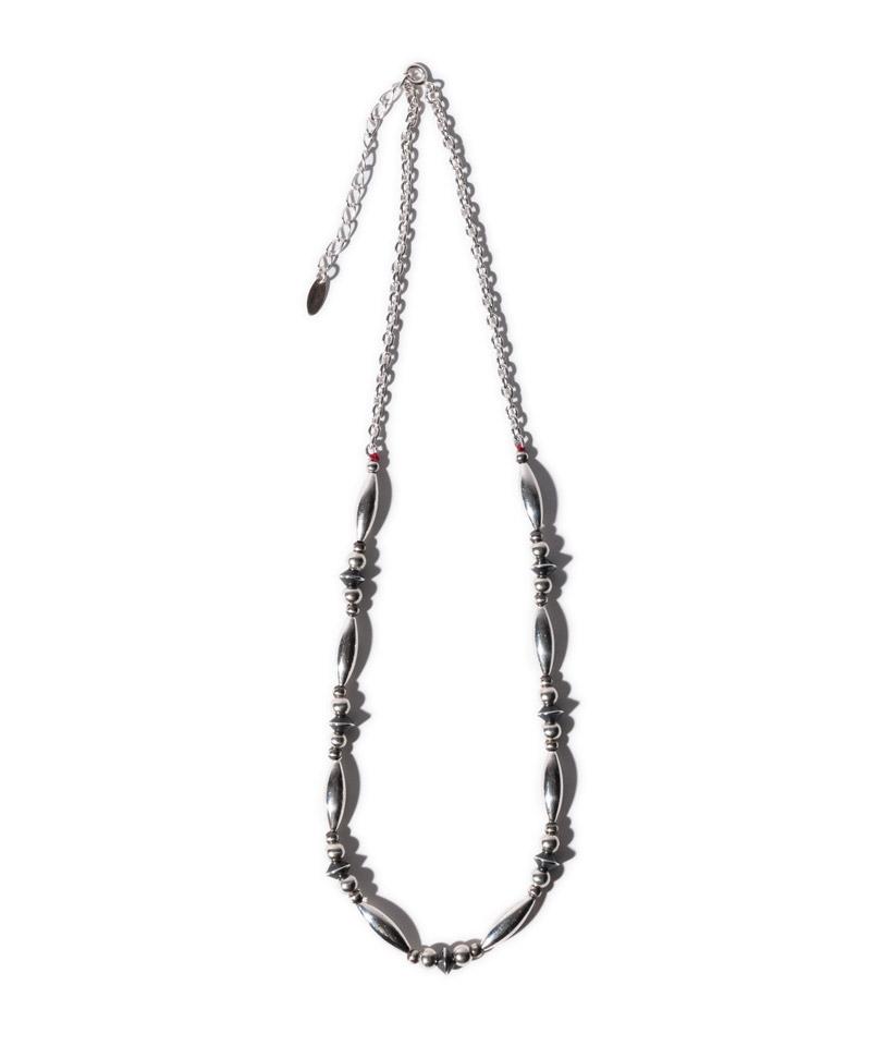 【glamb(グラム)】Silver beads necklaceシルバービーズネックレス(GB0121-AC03)