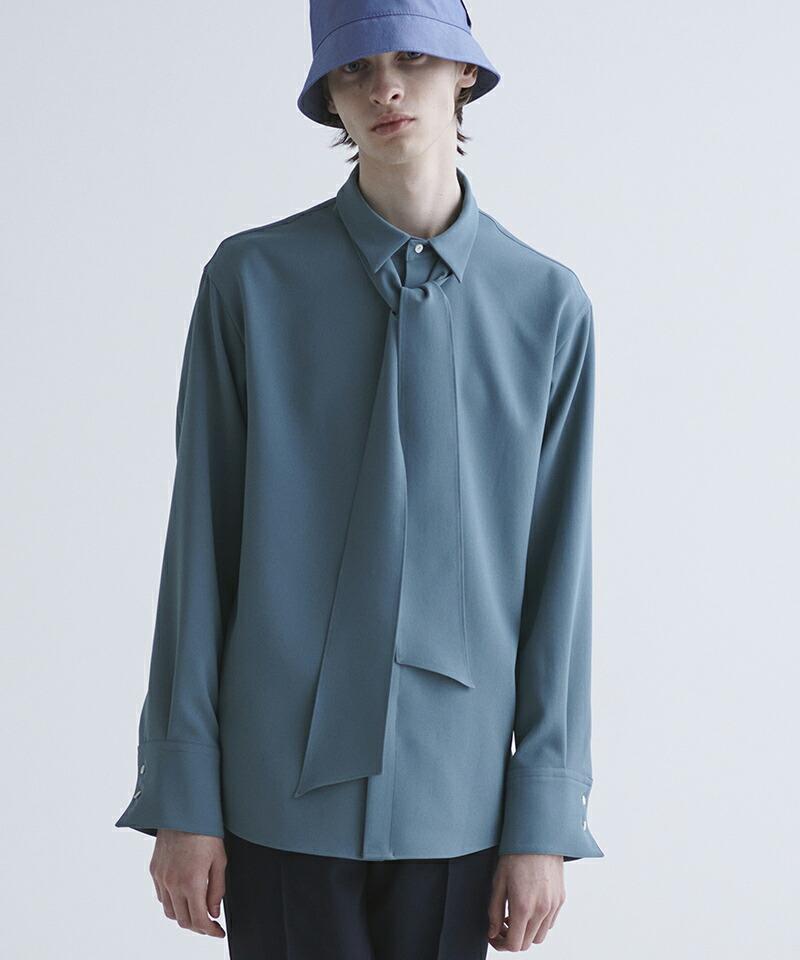【CULLNI(クルニ)】ボウタイシャツ(21-SS-018)