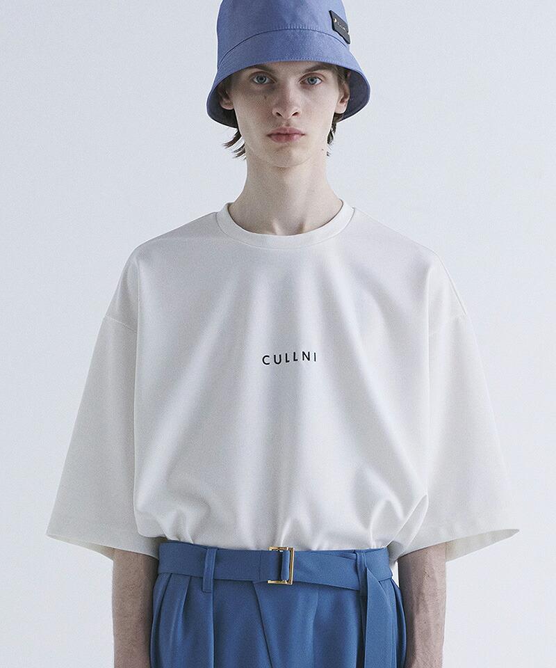 【CULLNI(クルニ)】ドロップショルダーロゴTシャツ(21-SS-002)