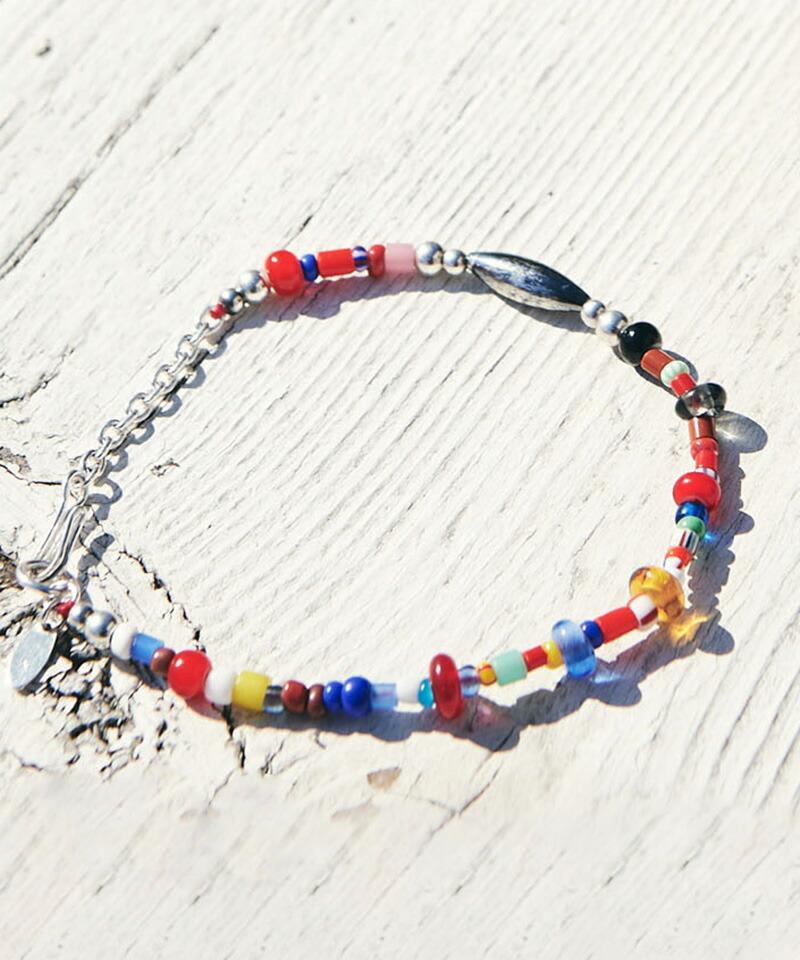 【glamb(グラム)】Mix beads bracelet ミックスビーズブレスレット(GB0221-AC11)