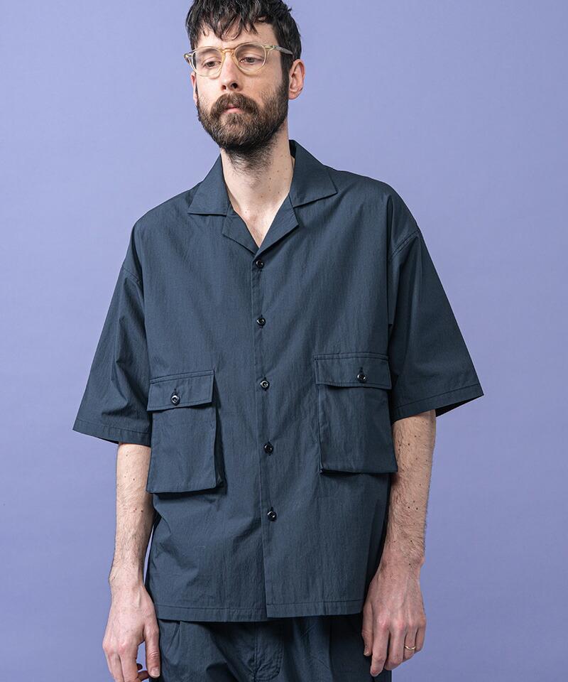 【MROLIVE(ミスターオリーブ)】SHELTECH C-N TYPEWRITER -CARGO SHIRT シャツ(M-022137)