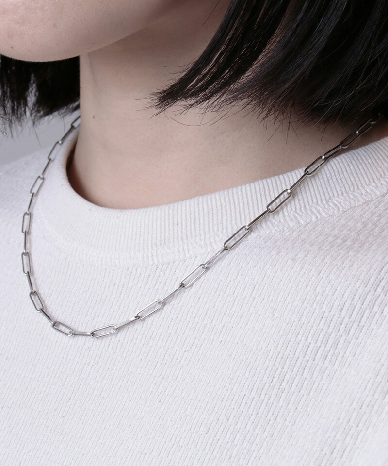 【VIVIFY(ビビファイ)】For LADIES Rectangle Chain Necklace ネックレス(VFCL-004)