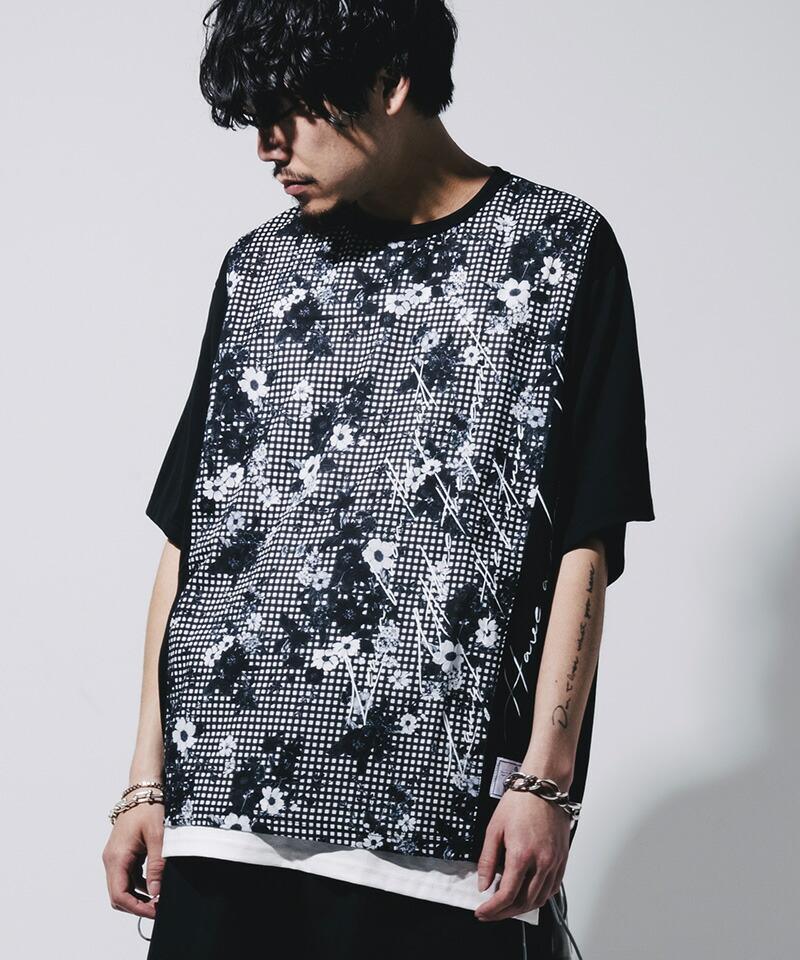【EFFECTEN(エフェクテン)】two faced switching Tee Tシャツ(efel-03)