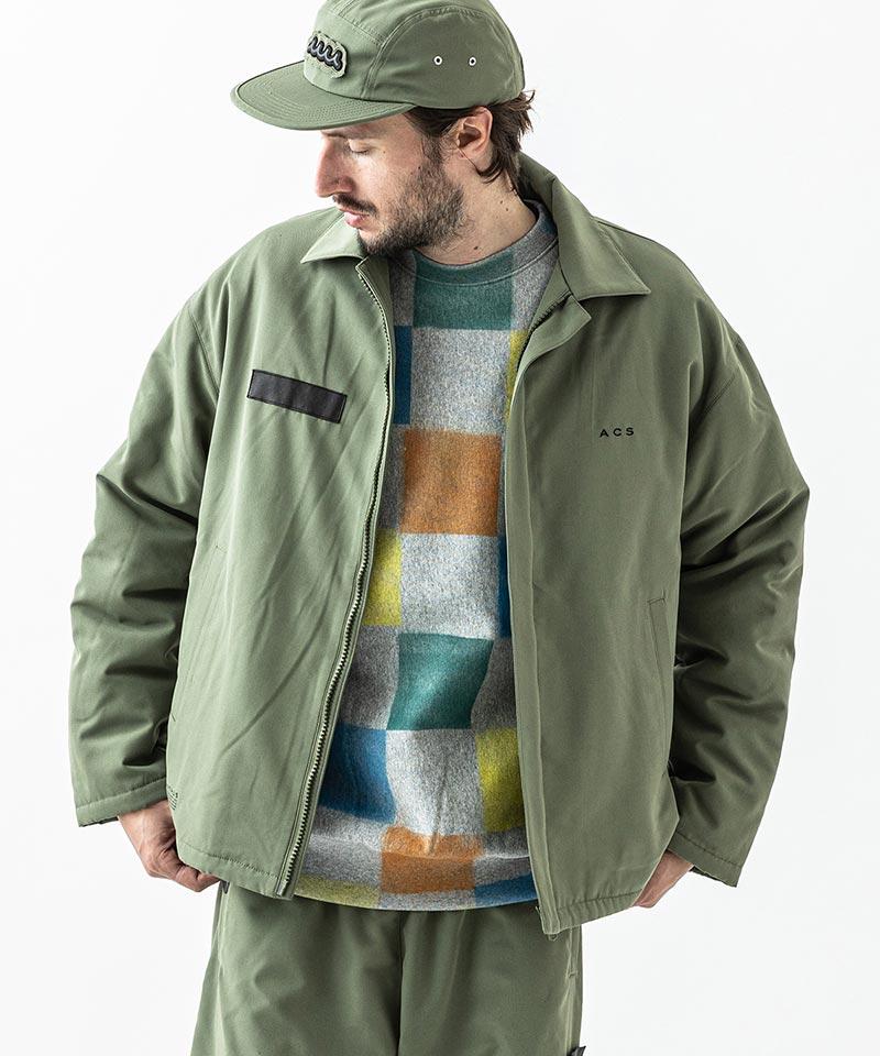 【ACANTHUS(アカンサス)】Polartec Fleece Lining Coach Jacket コーチジャケット(JK2105)