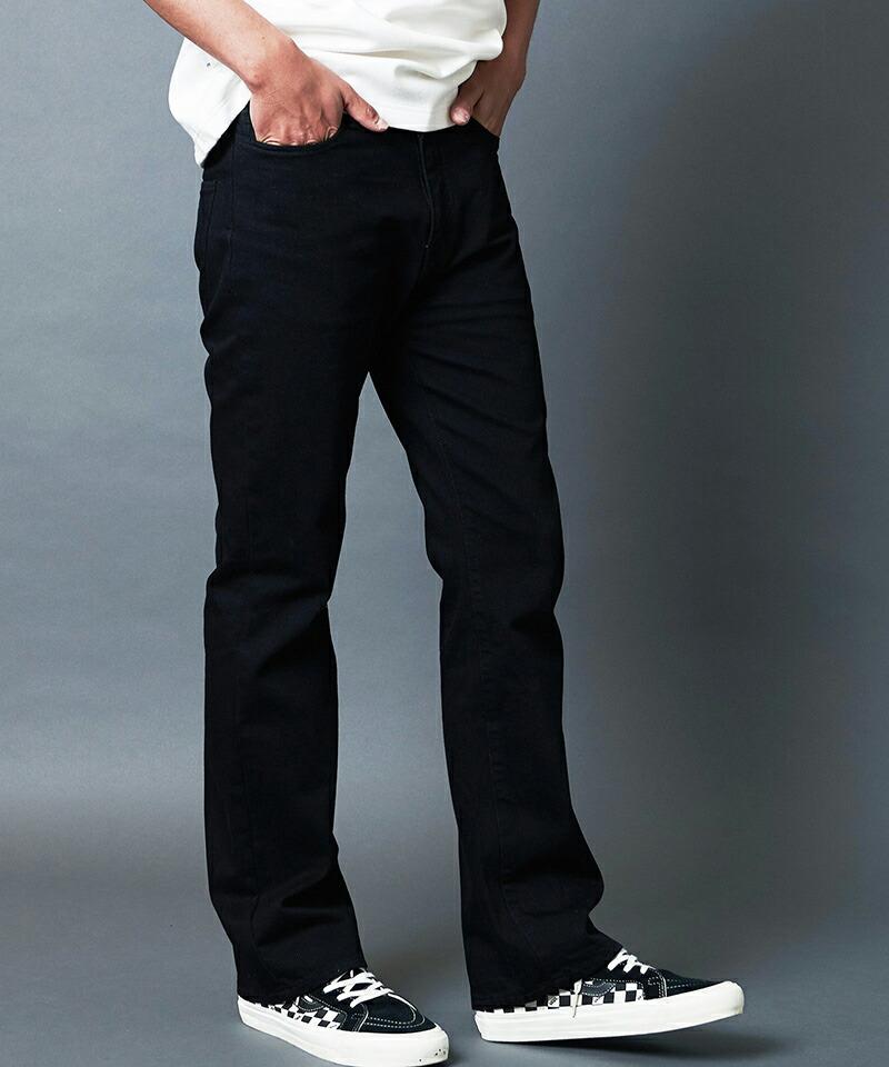 【Magine(マージン)】WASHED BOOTS CUT DENIM 5PKT PANTS デニムパンツ(2123-10)
