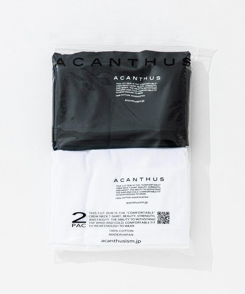 【ACANTHUS(アカンサス)】2 Pack Tee Tシャツ(PK2001)