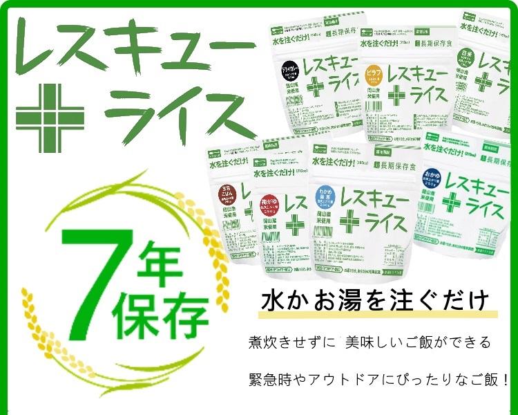 レスキューライス【ドライカレー】【100食セット】