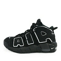 AIR MORE UPTEMPO BLACK WHITE GS