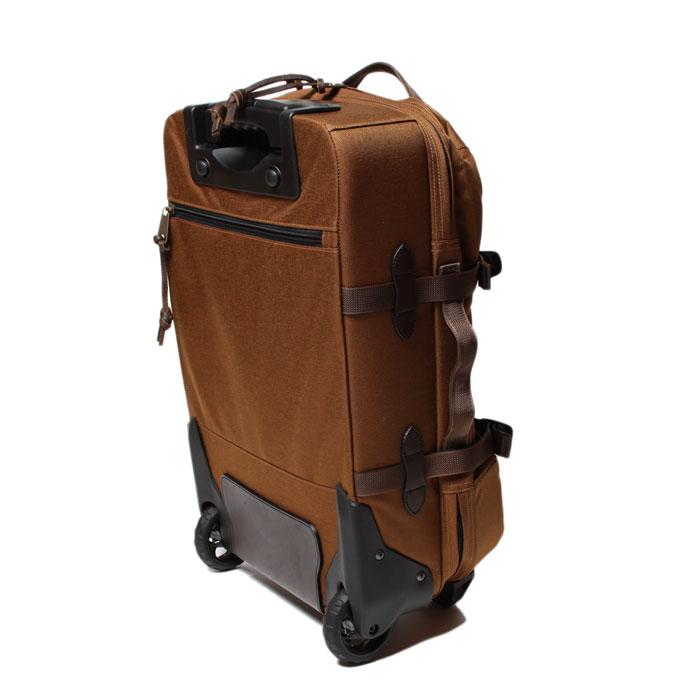 FILSON Ballistic Nylon Dryden Rolling 2-Wheel Carry-On Bag Whiskey FILSON からナイロン素材を使用した2輪キャリーケースが入荷しました。1000D NYLONの軽量ながら ... 4f94b006f60e1