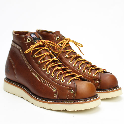 Rhino Store Quot Thorogood Roofer Boots Brown Tobacco