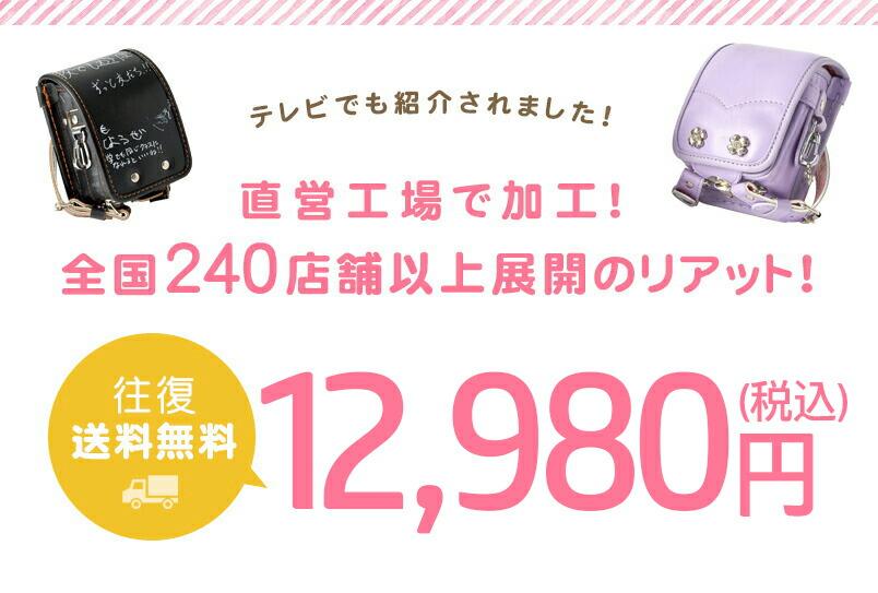 往復送料無料11,800円(税抜)(税込 12,980円)
