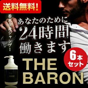 【送料無料】 VIDAN THE BARON(ビダンザバロン) 500ml お得な6個セット 話題の全身香水シャンプー