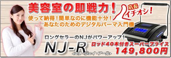 オリジナルデジタルパーマ NJ-R