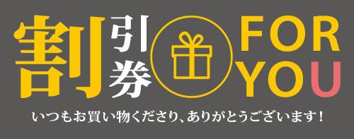 商品到着後レビュー投稿で500円割引券プレゼント
